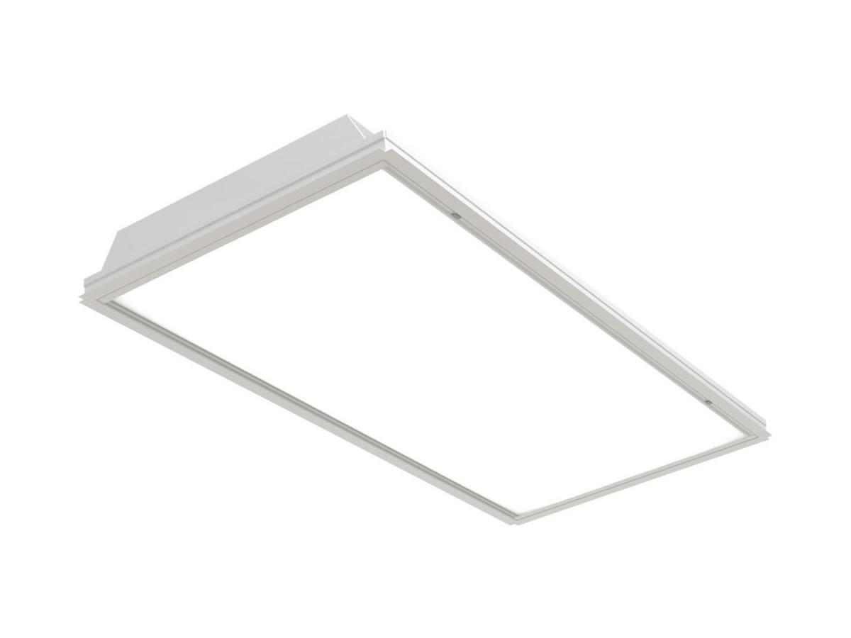 PRTL Recessed Static Luminaire for T-Bar Ceilings
