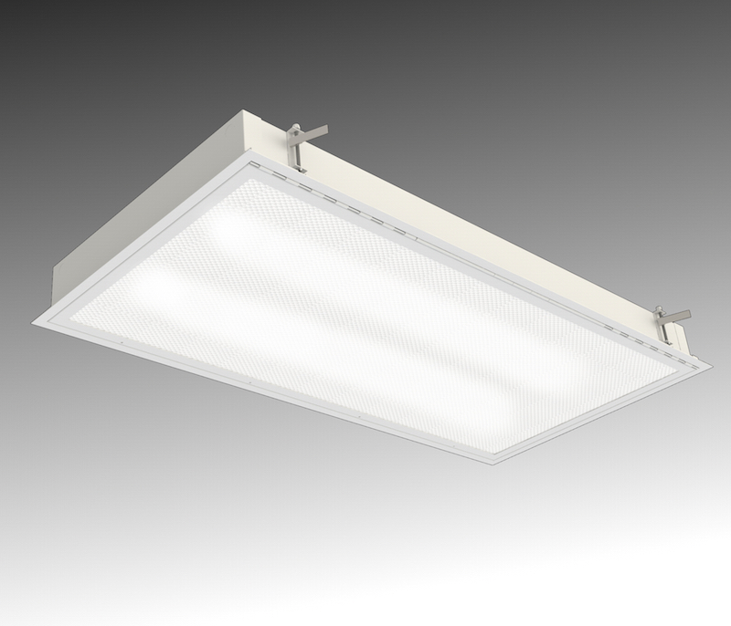 Prpa Fluo High Security Recessed Luminaire